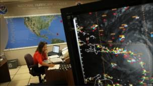 Centro Nacional de Huracanes de EE.UU.