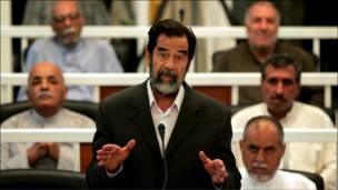 محاكمة صدام