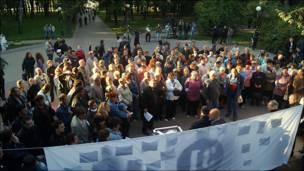 Митинг в защиту 31 статьи Конституции в Нижнем Новгороде. Фото Свешникова Димитрия