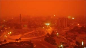 इराक़ में तूफ़ान
