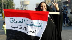 इराक़ में पहला मतदान