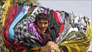 En camino al mercado de Kabul