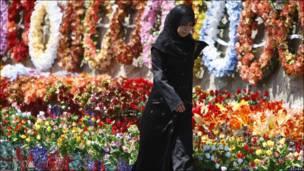 Mujer en el Líbano