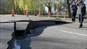 Последствия землетрясения на Южном острове Новой Зеландии