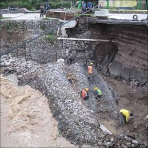 Deslaves e inundaciones por las lluvias torrenciales en Guatemala (Foto: Francesca Wade)