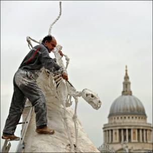 Escultura en Londres