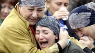 عزاداران در ولادی قفقاز