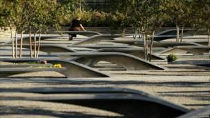 Parque a las víctimas en Washington