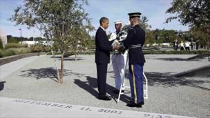 El presidente Obama en el Pentágono