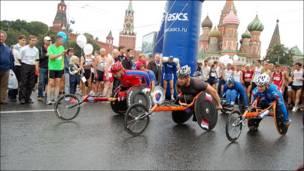 Международный марафон мира в Москве