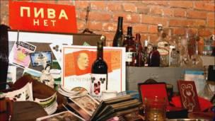 Предметы советского быта на выставке Арт-базар