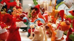 "Игрушки на выставке ""Арт-базар"""