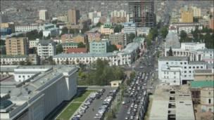 Thủ đô Ulaan Baatar của Mông Cổ ngày nay