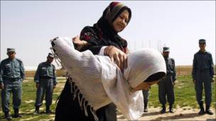 Афганские женщины-полицейские