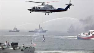 Китайско-тайваньские морские учения
