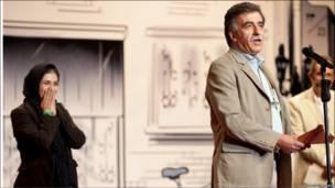 باران کوثری، بازیگر و همایون اسعدیان، کارگردان