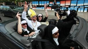 Visita del Papa a Londres sábado