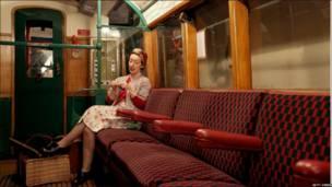 Вагон лондонского метро 1930-х годов