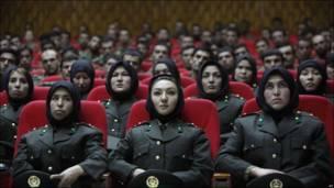 Policías afganas