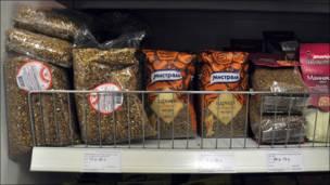 Высокие цены на гречку в московских магазинах.