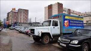 """Здание компании """"Владимирский хлебокомбинат"""" во Владимире"""