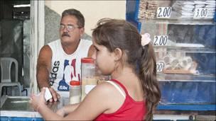Evaristo Pérez. (Dueño de cafetería)