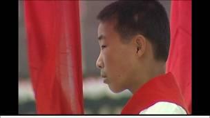 Một thiếu niên tiền phong ở Bình Nhưỡng, Bắc Hàn