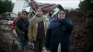 У вівторок мексиканське селище у штаті Оаксака постраждало від зсуву