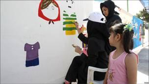 نقاشی در فرهنگسرای خاوران