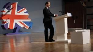 Британский министр финансов Джордж Осборн