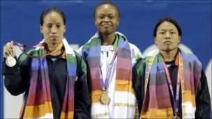 पहला स्वर्ण पदक नाइजीरिया को