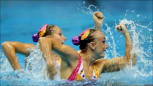 Nadadoras canadienses