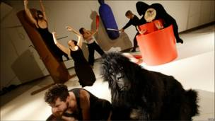 Репетиция танцоров