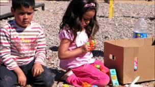 Niños jugando (Fotos y textos Macarena Gagliardi)