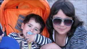 Pareja de niños  (Fotos y textos Macarena Gagliardi)