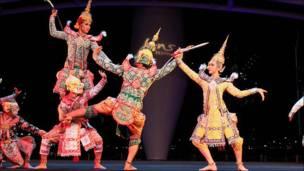 مهرجان الرقص في سنغافورة
