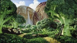 """Fotos del libro """"Foodscapes"""" de Carl Warner"""