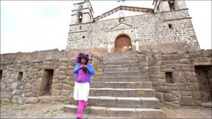 Iglesia en Vilcashuamán