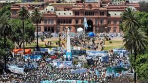 Despedida a Néstor Kirchner