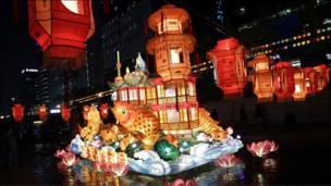 مهرجان الفوانيس في شنجهاي