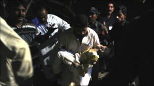 कराची में धमाका