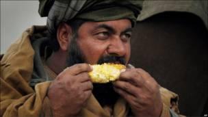 یک مرد افغان