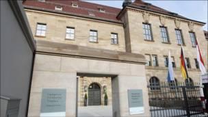 El Palacio de la Justicia en Nuremberg