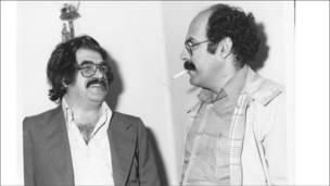 غلامحسین ساعدی و جواد مجابی
