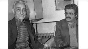 غلامحسین ساعدی و احمد عبادی