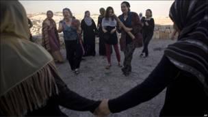 Израильские, палестинские и друзские женщины