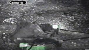 تصویر کلاه یکی از معدنچیان