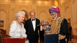 هدية من السلطان قابوس لملكة بريطانيا