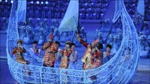 एशियाई खेलों का समापन समारोह