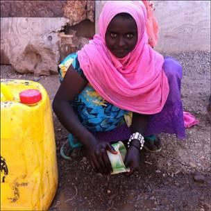 Девочка в Джибути